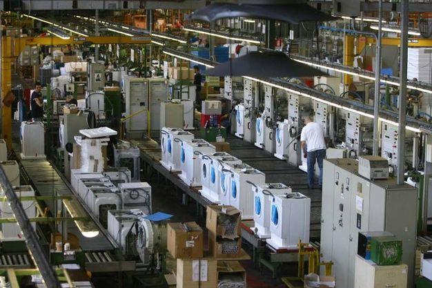 Alla Candy di Brugherio si producono oltre 300mila lavatrici all'anno / Foto Rossi