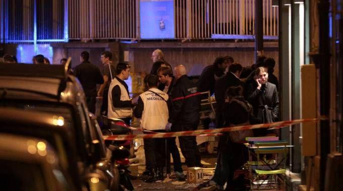 Parigi sotto attacco (Foto LaPresse)