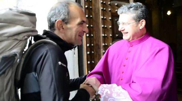 L'incontro tra Francisco Sancho e don Carlesi (Quartieri)