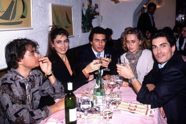L'intera famiglia Carrisi (Wirefoto)