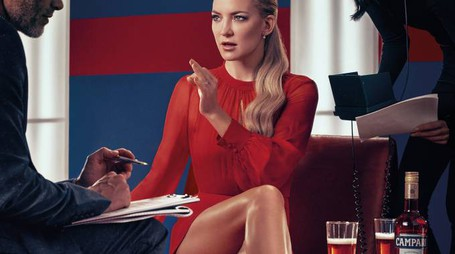 Kate Hudson per il calendario Campari 2016