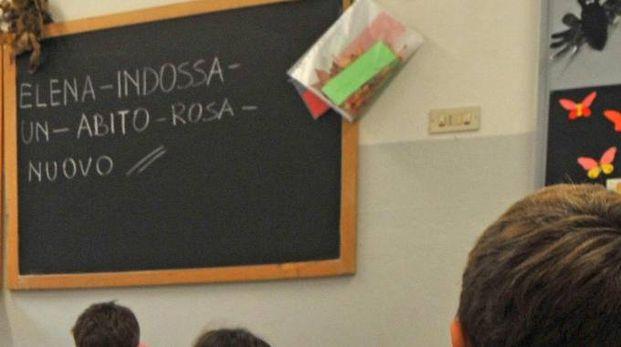 Il crocefisso in un'aula