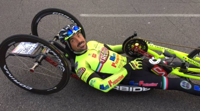 Christian Giagnoni alla Firenze Marathon 2015