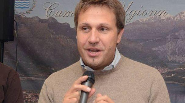 Il sindaco di Oggiono Paolo Ferrari