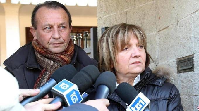 Giuseppe e Rita Poggi, genitori di Chiara (Ansa)