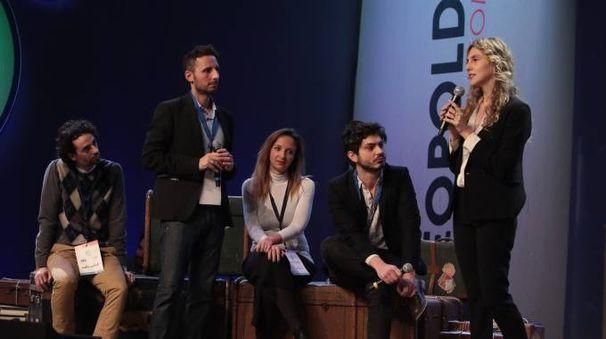 Il ministro Madia sul palco (New Press Photo)