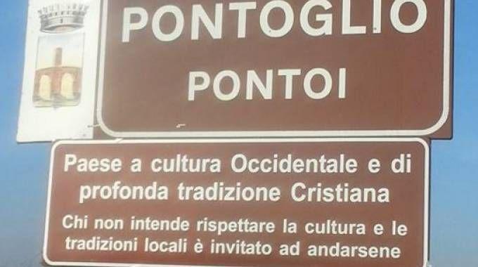 Cartelli a Pontoglio