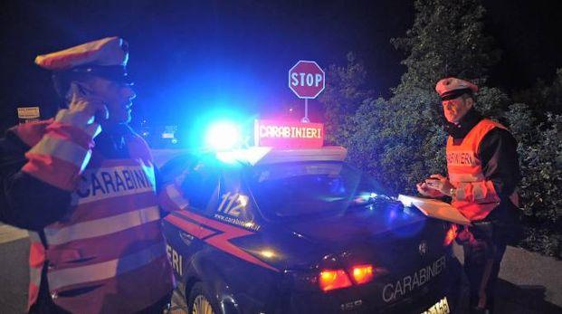 Intervento dei carabinieri (foto di repertorio)