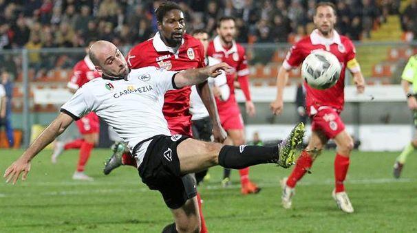 Spezia-Como finisce 1-1 (LaPresse)