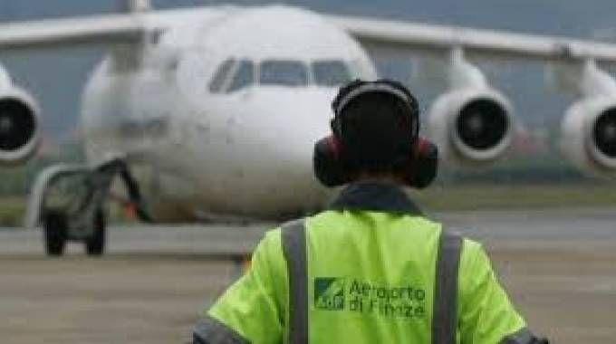 L'aeroporto di Peretola (Foto archivio)