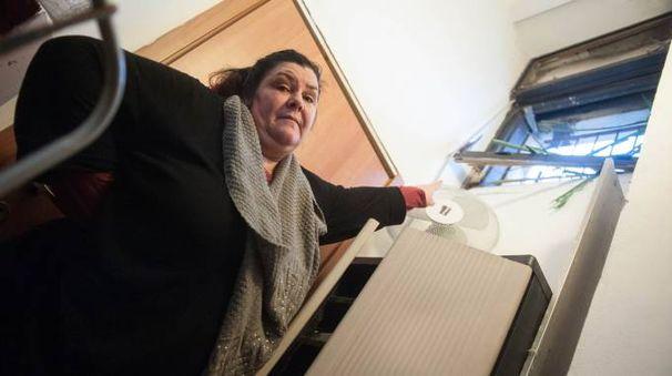 Emanuela Piazza, titolare del bar di via Deledda finito nel mirino dei malviventi