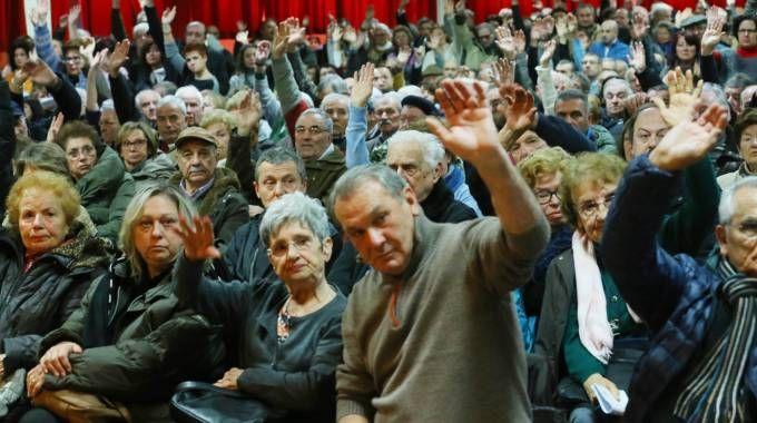 L'assemblea dei risparmiatori della Carife