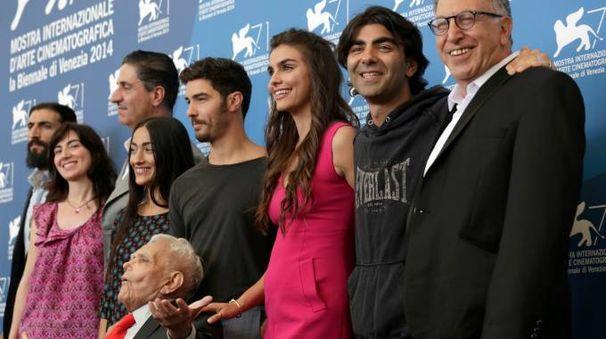 Il cast di 'The cut', film sul genocidio armeno di fatih Akin (Ap)