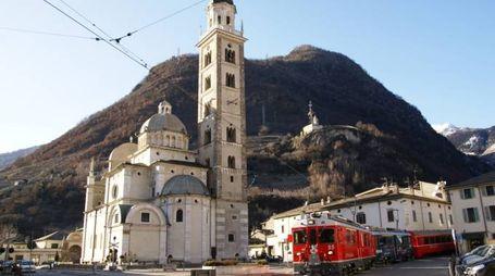 Il santuario della Madonna di Tirano