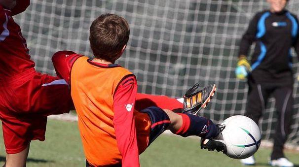 Calcio giovanile. foto di repertorio