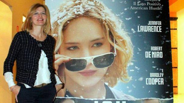 Barbara Mazzolai alla prima italiana di 'Joy'