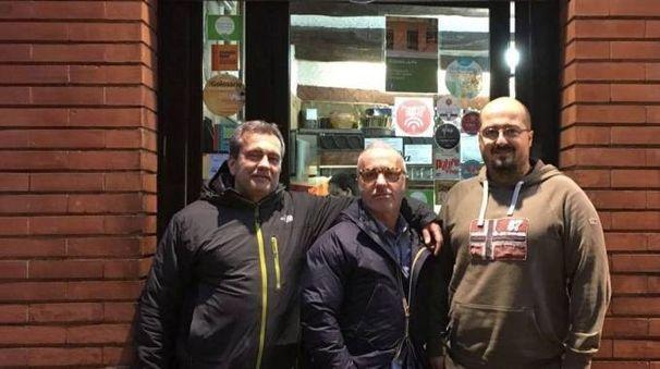 Federico Pagni, Fabio Seghieri e Simone Fornino