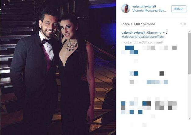 (Foto dal profilo Instagram di Valentina Vignali)