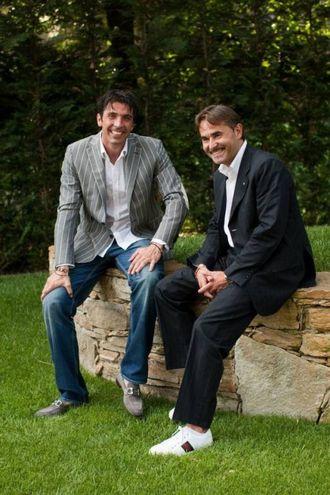 Con GianLuigi Buffon Foto Frascatore
