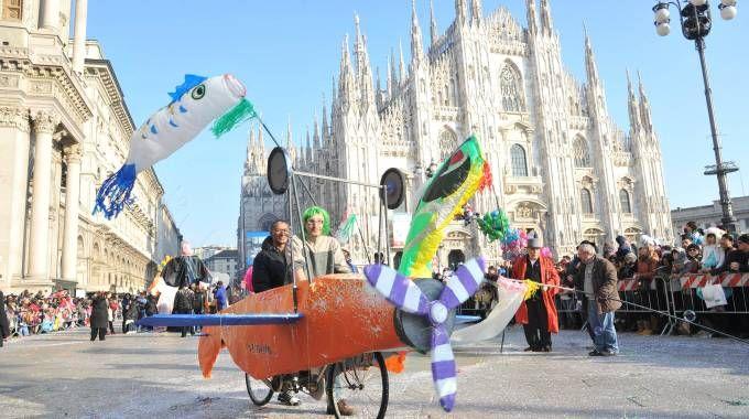 Carnevale a Milano (Newpress)
