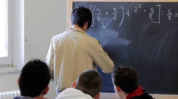 Una classe di un istituto superiore (foto di repertorio)
