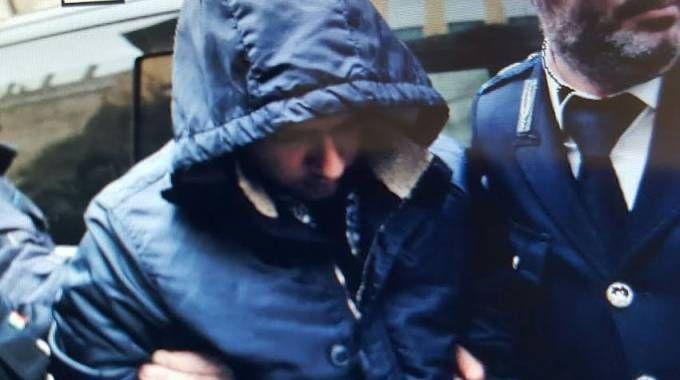 Antonio Tagliata questa mattina in  tribunale