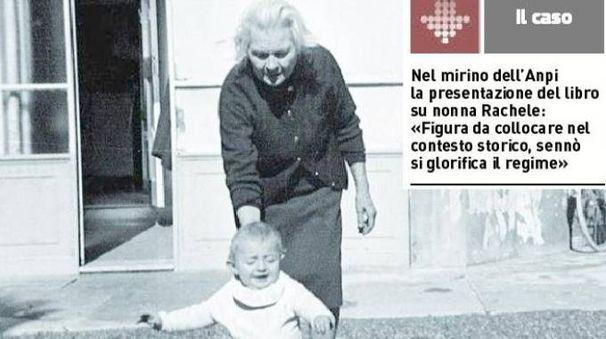 Nonna Rachele con la nipotina Edda (il resto del carlino)