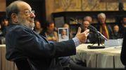 All'Archiginnasio presenta il suo libro 'Numero zero' (FotoSchicchi)