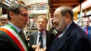 All'inaugurazione della libreria Coop di piazza Galvani (FotoSchicchi)