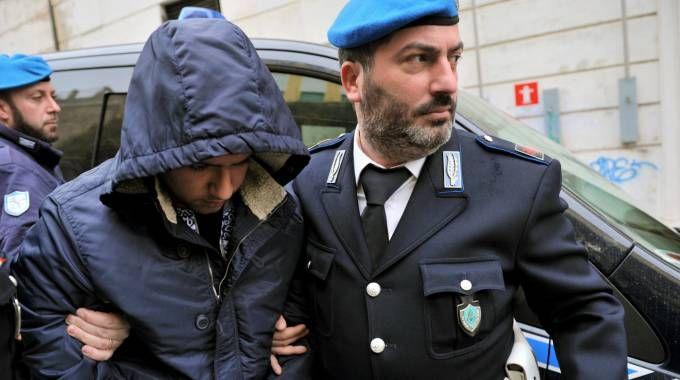 Antonio Tagliata in occasione dell'ultima udienza al tribunale dei minori di Ancona