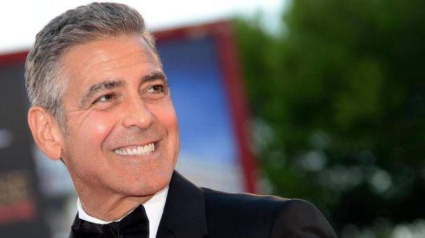 L'attore e regista George Clooney (Ansa)