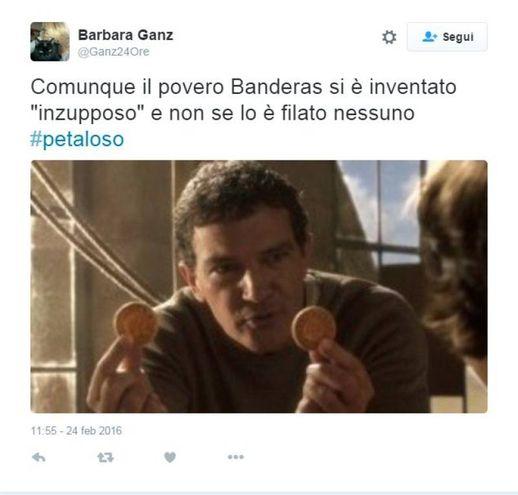"""La rete chiede """"giustizia"""" per Banderas"""