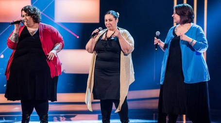 Le sorelle Baccaglini a The Voice of Italy