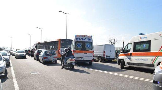 Il viale Italia a Livorno