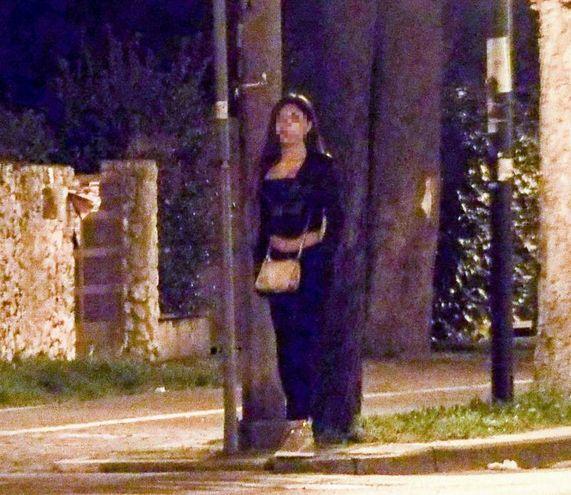 Una prostituta su viale Principe Amedeo