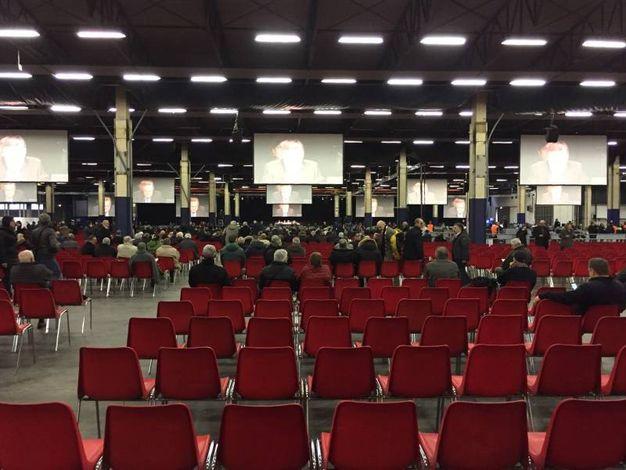 L'assemblea in corso a Gambellara