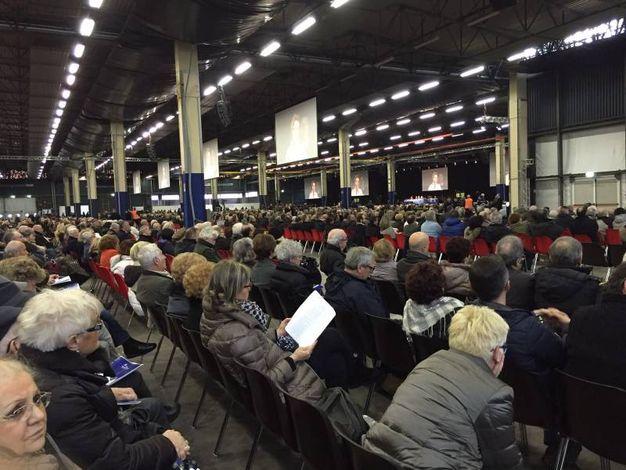 L'assemblea dei soci della Banca popolare di Vicenza