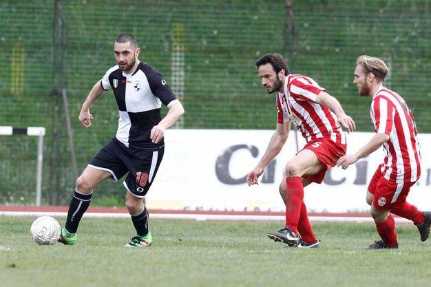 Maceratese-Robur Siena (Foto Fabio Dipietro)
