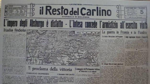 il Resto del Carlino (5 novembre 1918)
