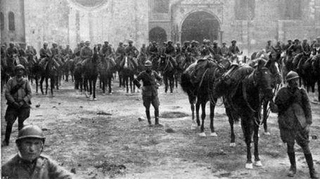 Cavalleria, Trento, fine della guerra (3 novembre 1918)