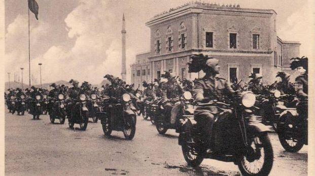 Bersaglieri in Albania