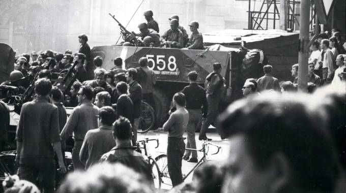 Sep. 09, 1968 - Czechoslovakia Occupied by East Block troops