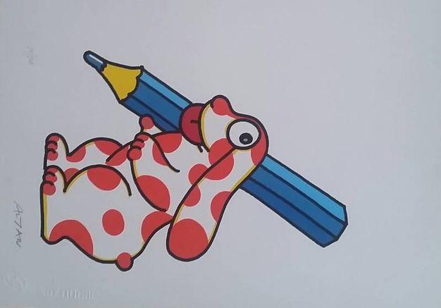 Artematta Altan - Pimpa con la matita