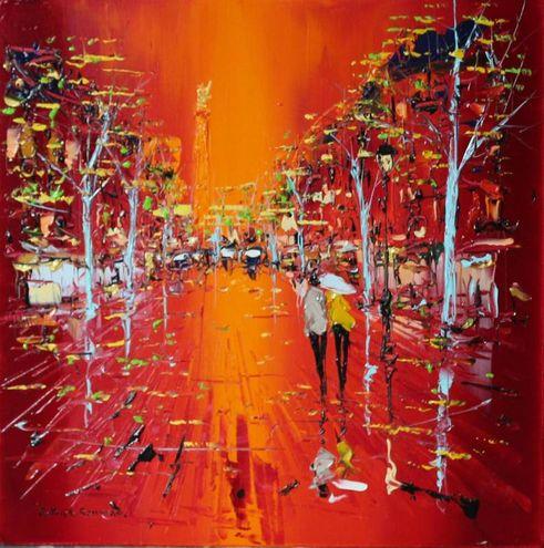 Carre d'artistes - Patrick Rousseau - Soiree plevieuse