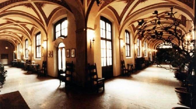 L'interno di casa Banfi a Vimercate