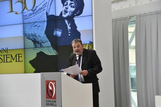 Pierluigi Visci, già direttore Qn - Il Resto del Carlino (foto Schicchi)