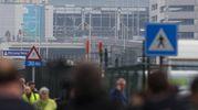 L'attentato all'aeroporto di Zaventem (Ansa)