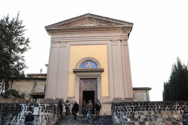 Chiesa di San Martino a Montughi, camera ardente di Valentina Gallo (New Press Photo)