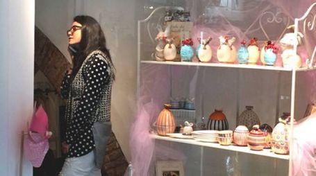 Mina's fashion.art.lab alla galleria della Molinella a Faenza
