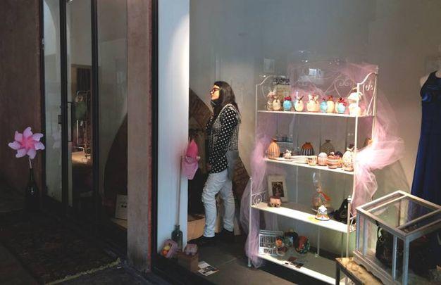 Le ceramiche a Mina's fashion.art.lab
